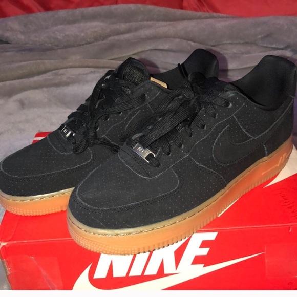 Women s Nike Air Force 1 Premium Black Suede 8.5. M 5aaa907a3a112e22afb490e8 8cf6d77bc1